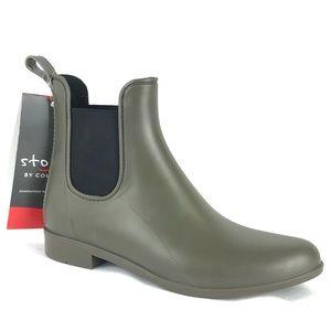 Cougar Celeste Rain Boots Chelsea Booties Green